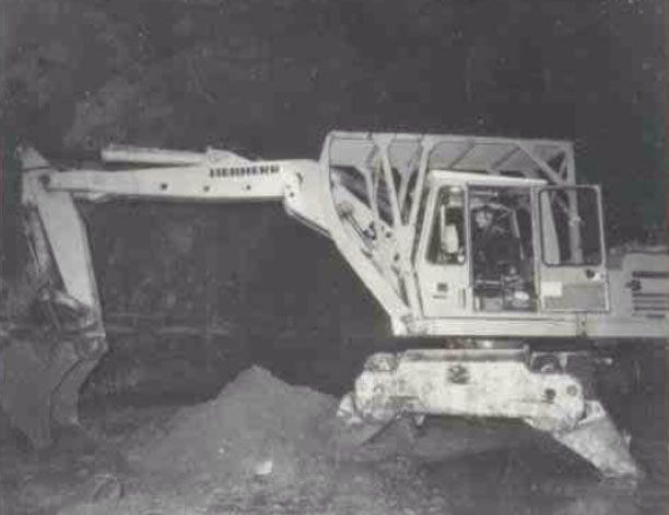 Gammal grävare